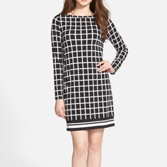 Michael Kors Dresses & Skirts - Michael Kors Filigree check print jersey  dress